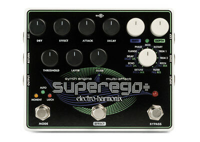 Electro-Harmonix Superego+ Synth Engine/Multi-Effect W/ Power Supply • 181.92£
