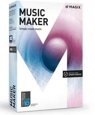 MAGIX Music Maker – 2017 Plus Edition – Make Your Own Music The Easy Way  • 31.16£