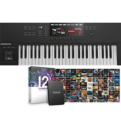 Native Instruments Komplete Kontrol S49 Mk2 & Komplete 12 Ultimate Software • 879£