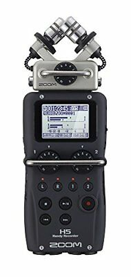 New ZOOM H5 Handy PCM Field Recorder Interchangeable Mic Capsules Japan