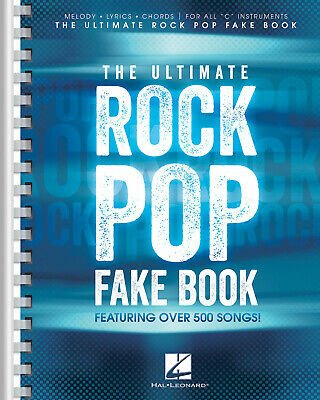 The Ultimate Rock Pop Fake Book  Vocal  Book Only HL00240310 • 28£