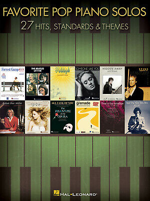 Favorite Pop Piano Solos  Piano  Book Only HL00312523 • 12.75£