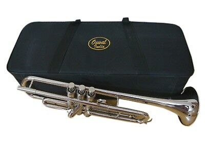 BRAND NEW SILVER Bb TRUMPET FREE CASE+7C MOUTHPIECE NEW STUDENTS SALE!