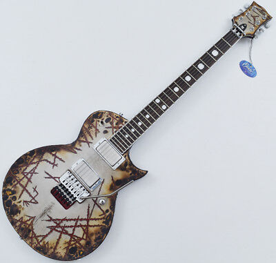 ESP E-II Richard Z RZK-II Burnt Electric Guitar With Case • 2,065.35£