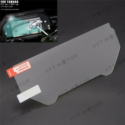 Cluster Scratch Protection Film / Screen Protector For Yamaha FZ-10 / MT-10 • 13.14£