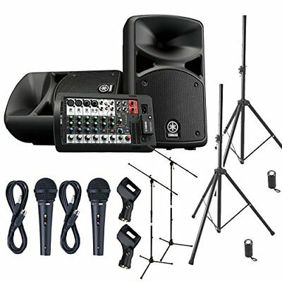 YAMAHA STAGEPAS 400 BT Event Hosting ? Speaker Set For Mini Concert �yPA With 2 • 938.85£