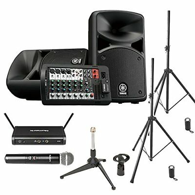 YAMAHA STAGEPAS 400 BT Speaker Set For Conference / Presentation �yWireless Micr • 970.50£