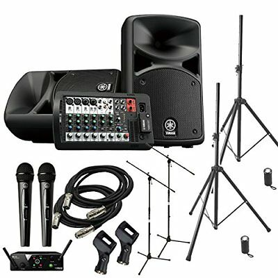 YAMAHA STAGEPAS 400 BT Event Chairperson ? Speaker Set For Mini Concert �y2 Wir • 1,160.13£
