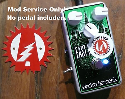 Mod Service Only (No Pedal) Electro-Harmonix East River Drive Overdrive Pedal
