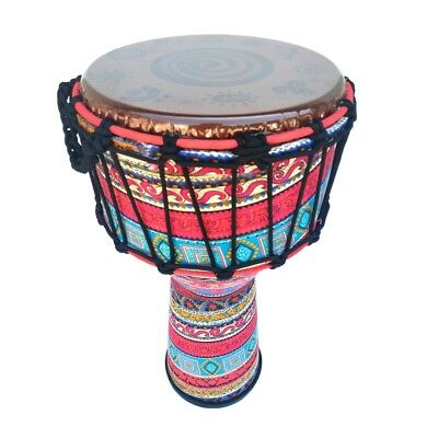 8'' Djembe African Drum Percussion Instrument For Celebration Random Color • 39.04£