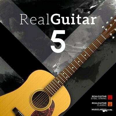 New MusicLab RealGuitar 5 Real Guitar Virtual Instrument VST Software EDelivery • 152.99£
