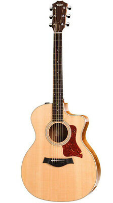 Taylor 200 Series 214ce Koa Deluxe Grand Auditorium Acoustic-Electric Guitar Na • 1,213.37£