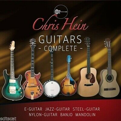 New Best Service Chris Hein Guitars Complete Instruments Sounds Mac PC • 145.31£