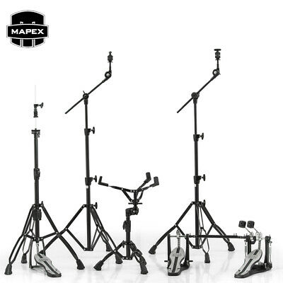 Mapex MARS Series HP6005EB-DP 5-Piece Hardware Pack + Double Bass Drum Pedal Bla • 351.94£