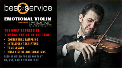 New Best Service Emotional Violin Crossgrade To Emotional Cello Mac/PC • 129.70£