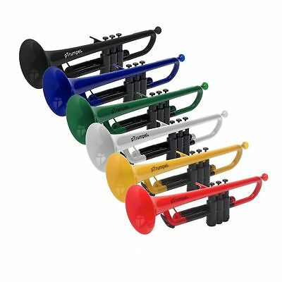 Jiggs PTrumpet Plastic Bb Trumpet Outfit With Carry Case - Various Colours • 110.93£