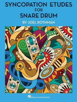 Syncopation Etudes for Snare Drum  Snare Drum  Book Only HL00266971