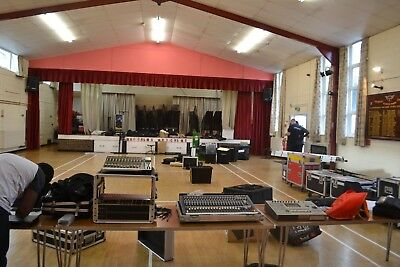 Behringer X32 Sound Engineer With Speakers, Subwoofer P.a Hire In Kent And Essex • 154£