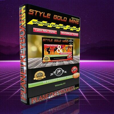 98 NEW SUPER STYLES Latin Mix World Music For Yamaha Genos PSR-SX700 SX Tyros 5 • 34.57£