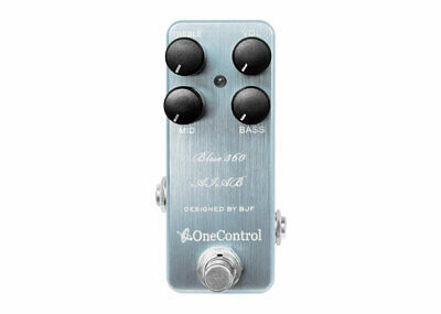 One Control Bass Preamp Pedal Amp In A Box Collection - Blue-360 • 120.17£