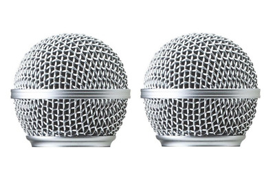 2 PCS RK143G SM58 Replacement Grille Fit For Shure SM58 SM58S SM58LC Vocal Mike • 6.08£