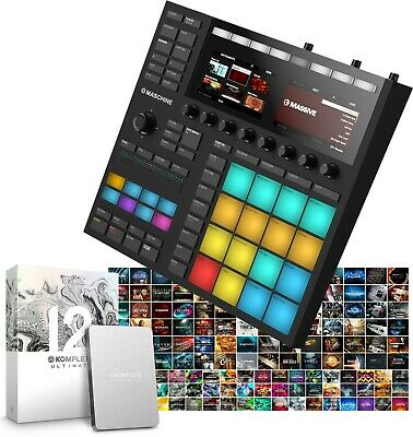 Native Instruments Maschine Mk3 & Komplete 12 Ultimate Collector's Edition • 1,649£