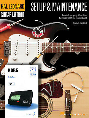 Hal Leonard Guitar Method - Setup & Maintenance Method Guitar MUSIC BOOK • 25.50£