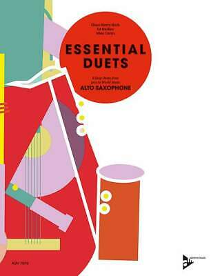 Essential Duets 8 Easy Duets from Jazz to World Music 2 Alto Saxophones Mike Cur