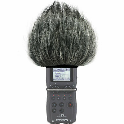 New Furry Microphone Windscreen For Digital Recorders Fit Zoom H5 Recorder • 8.99£