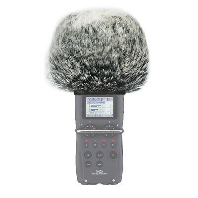 New Furry Microphone Mic Windscreen Wind Muff Compatible With Zoom H5 • 8.49£