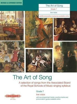 The Art of Song Grade 7 Low Voice Revised & Expanded Edition Low Voice and Piano