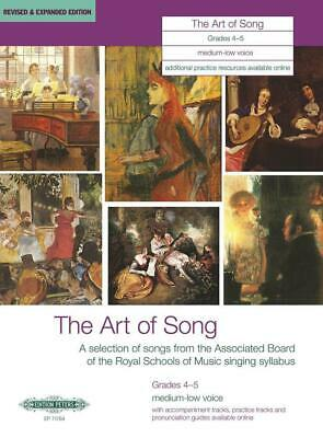 The Art of Song Grades 4-5, Medium-Low Voice Revised & Expanded Edition Medium o