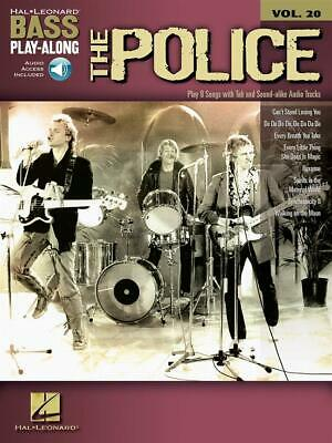 The Police Bass Play-Along Volume 20 Bass Guitar  Book With Audio-Online HL00700 • 14.70£