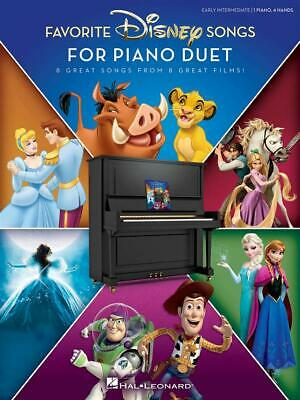 Favorite Disney Songs for Piano Duet 8 Great Songs from 8 Great Films Piano 4 Ha