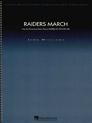 Raiders March (from Raiders of the Lost Ark)  Orchestra John Williams Score Only