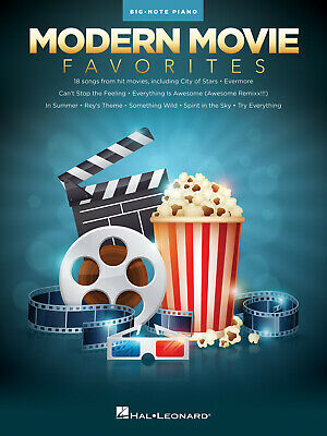 Modern Movie Favorites Big Note Songbook Piano  Book Only HL00241880