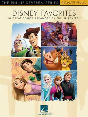 Disney Favorites The Phillip Keveren Series Piano  Book Only HL00277370