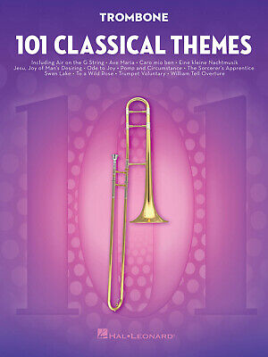 101 Classical Themes For Trombone  Trombone  Book Only HL00155322 • 11.50£