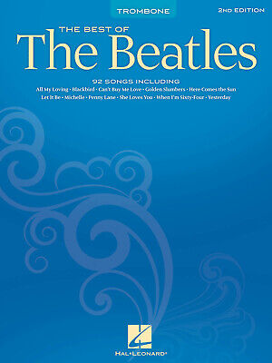 Best Of the Beatles  Trombone  Book Only HL00847221