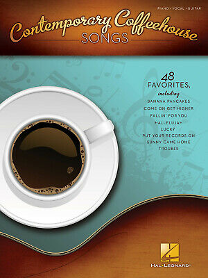 Contemporary Coffeehouse Songs PVG  Piano, Vocal And Guitar  Book Only HL0031265 • 16.99£