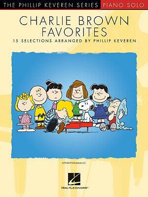 Charlie Brown Favorites 15 Selections Arranged by Phillip Keveren Piano Vince Gu