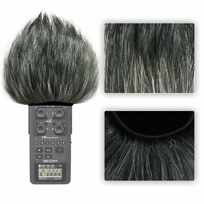 Furry Microphone Windscreen For Digital Recorders Fit For Zoom H6 Recorder • 8.99£