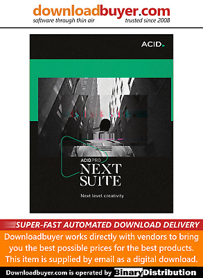 MAGIX Acid Pro Next Suite - For PC - [Download] • 336.99£