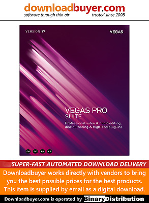 Magix Vegas Pro 17 Suite - For PC - (Approved Digital Download) • 489.99£