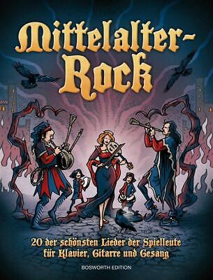 Mittelalter-Rock Piano Vocal Guitar Bosworth Edition Learn To Play MUSIC BOOK • 25.95£