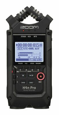Zoom H4n Pro All Black Handy Recorder • 186.82£