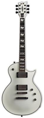 ESP E-II Eclipse Snow White Satin Electric Guitar W/Case • 1,445.15£
