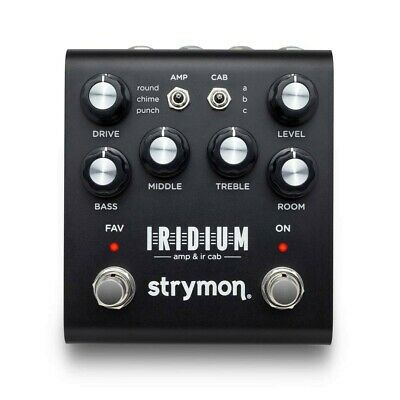 Strymon IRIDIUM AMP & IR CAB Emulator  AC 100V 50-60Hz EMS Expedited Shipping • 407.16£