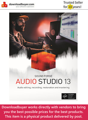 MAGIX Sound Forge Audio Studio 13 - [Boxed] • 34.99£
