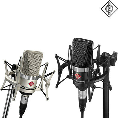 Neumann TLM-102 Large-Diaphragm Condenser Microphone L Studio Set (Nickel Black) • 621.02£